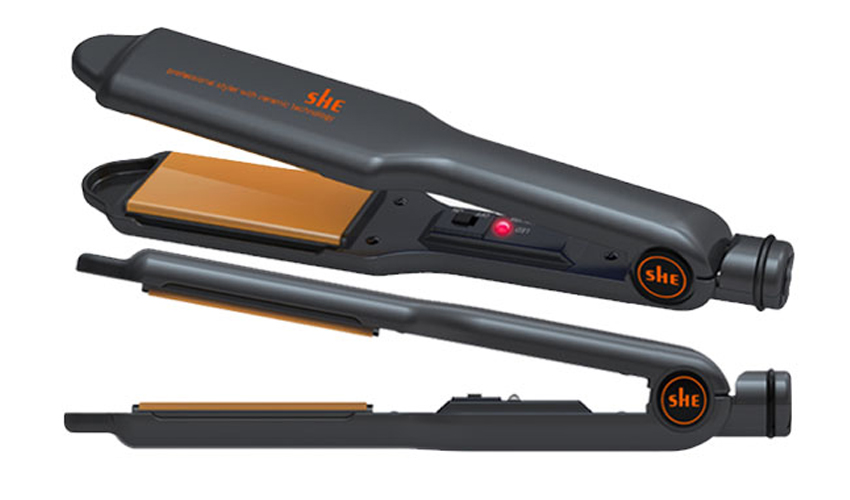 buy Gold hair straighteners